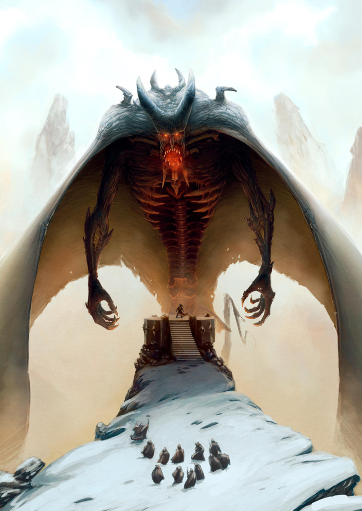 """lord of the pit by bubaben 2nnk7fkun3 726x1024 """"Lord of the pit"""" by Bubaben"""